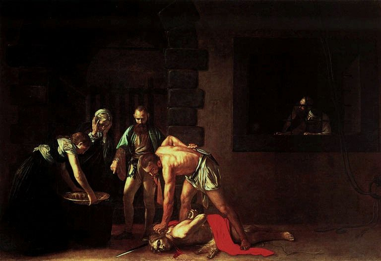 Caravaggio, Decollazione di San Giovanni Battista