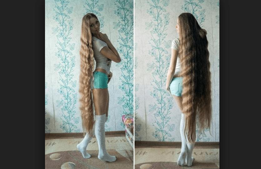 Dashik Gubanova Freckle è Raperonzolo: non taglia i capelli da 13 anni