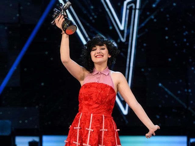 Alice Paba vincitrice The Voice of Italy 4