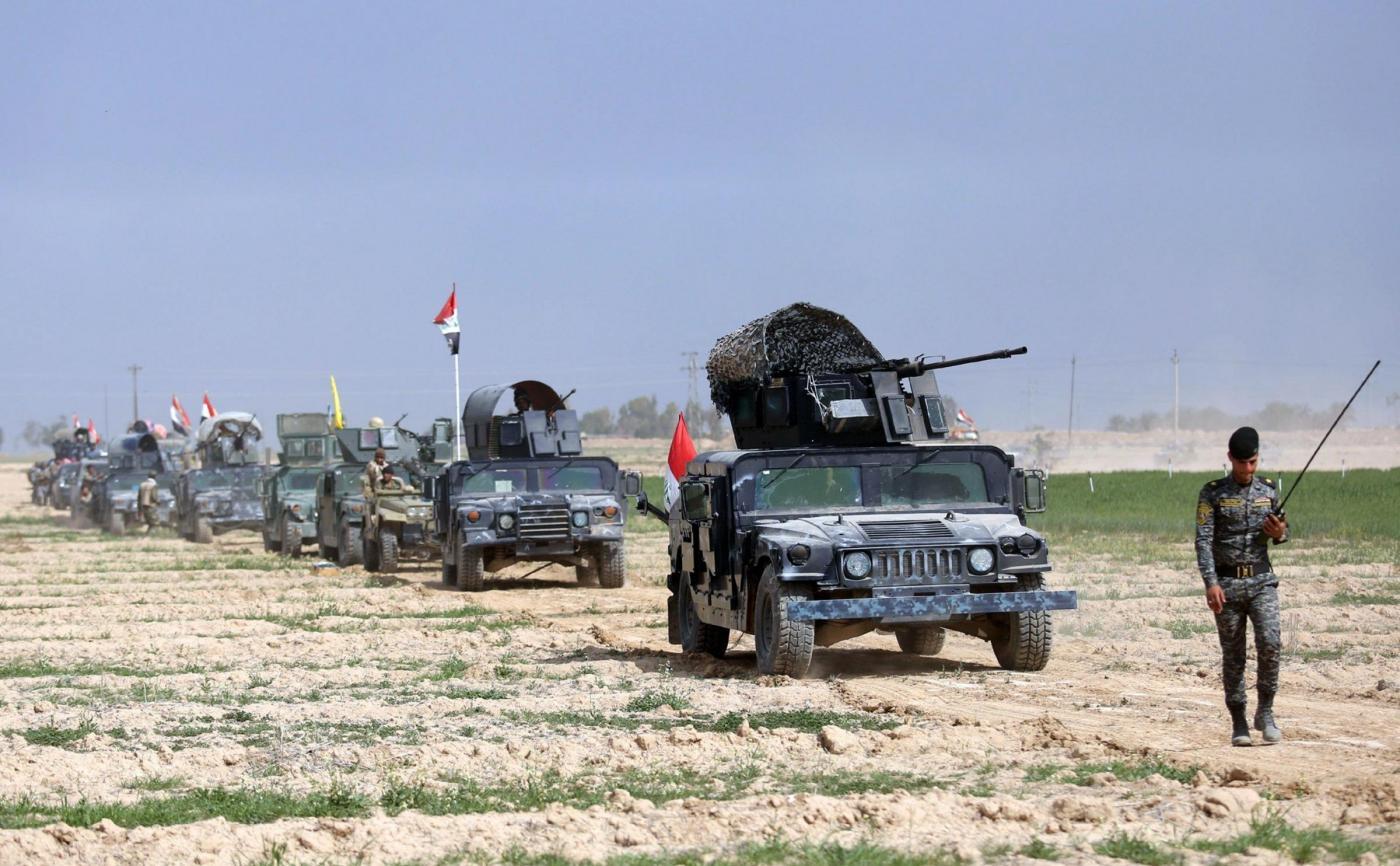 Operazione contro i militanti Daesh a Tikrit in Iraq