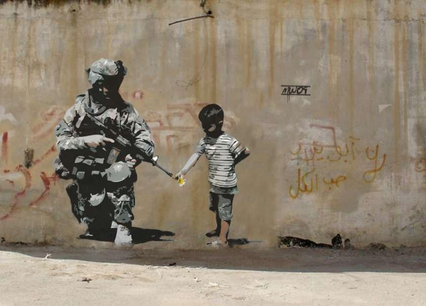 Mostra Banksy a Roma: a Palazzo Cipolla dal 24 maggio al 4 settembre 2016