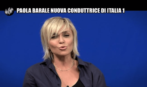Le Iene, intervista a Paola Barale 5 05 2016