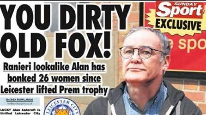 Il sosia di Ranieri è stato con 26 donne