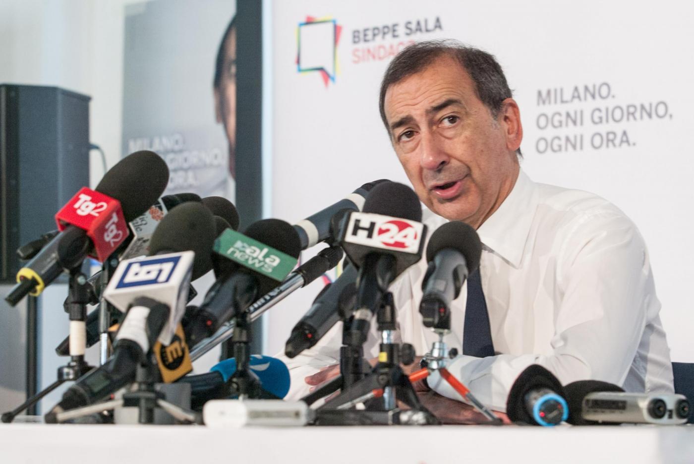 Nuovo sindaco di Milano Giuseppe Sala