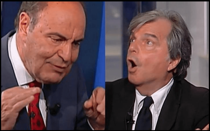 Brexit: a Porta a Porta Vespa e Brunetta litigano furiosamente