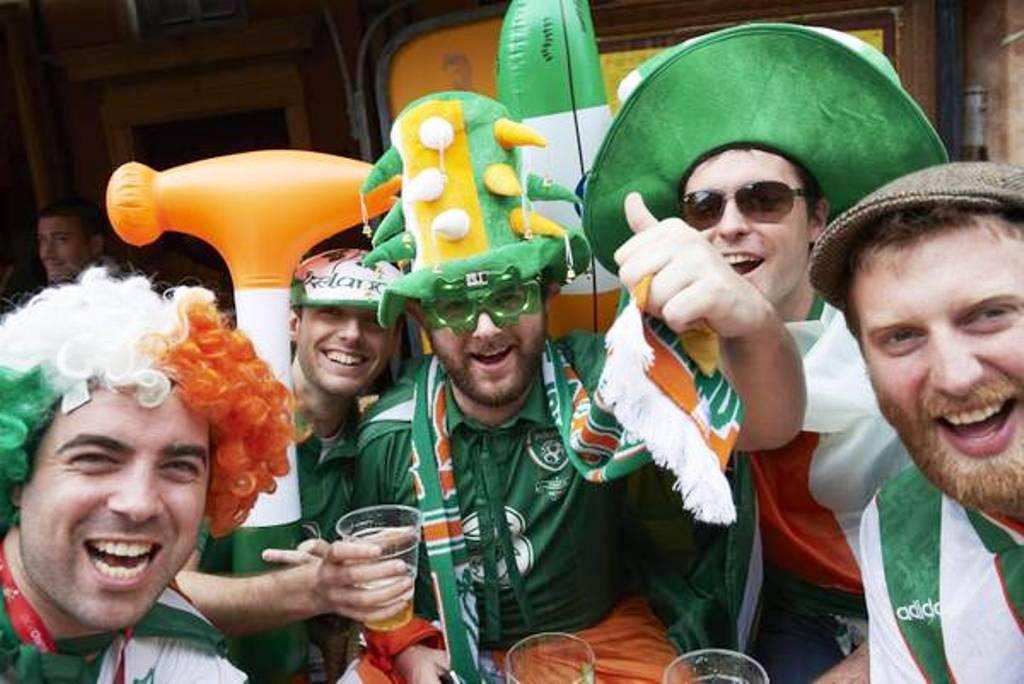 Tifosi dell'Irlanda