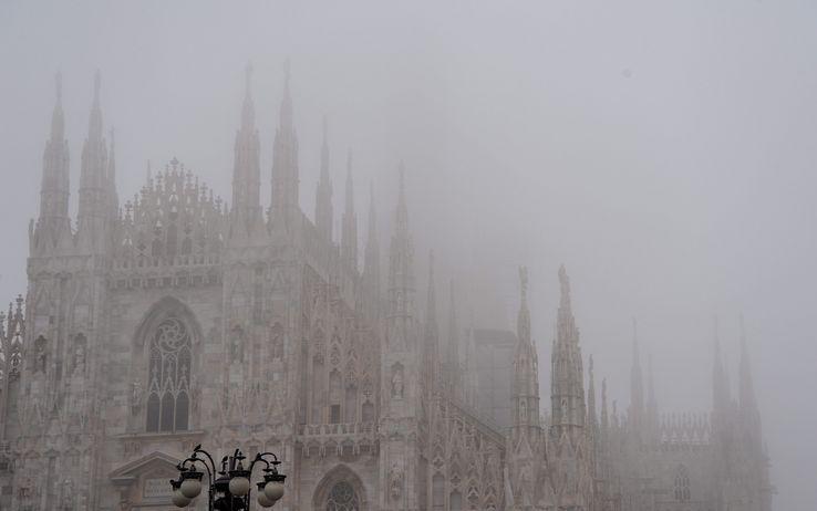Milano nella nebbia