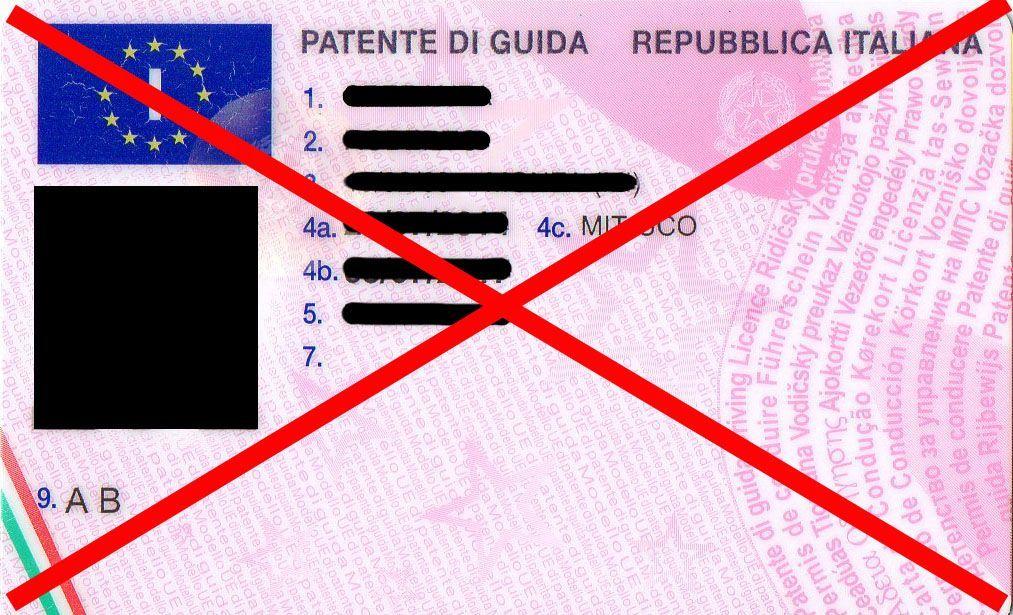 Patente sospesa