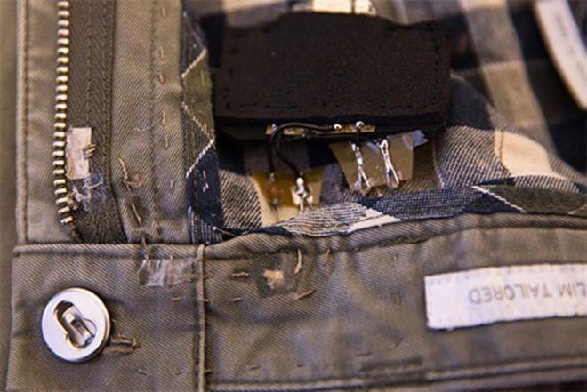 Patta aperta Jeans