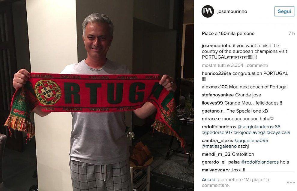Mourinho Portogallo