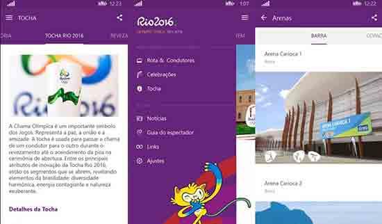 Rio 2016 apps