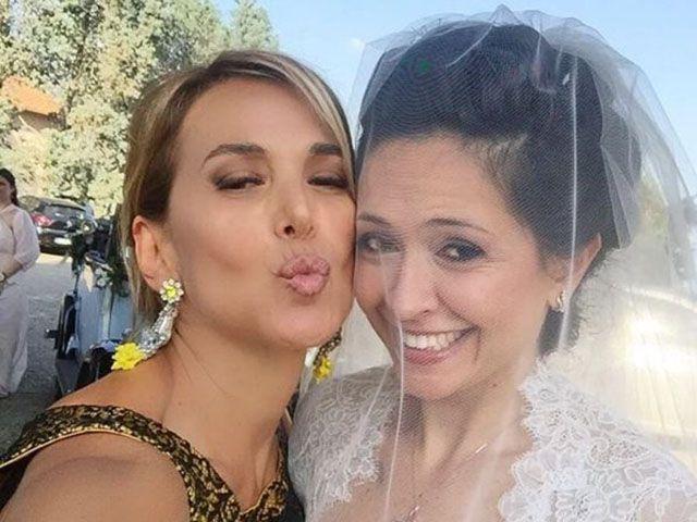 Barbara D'Urso sorella Eleonora sposa