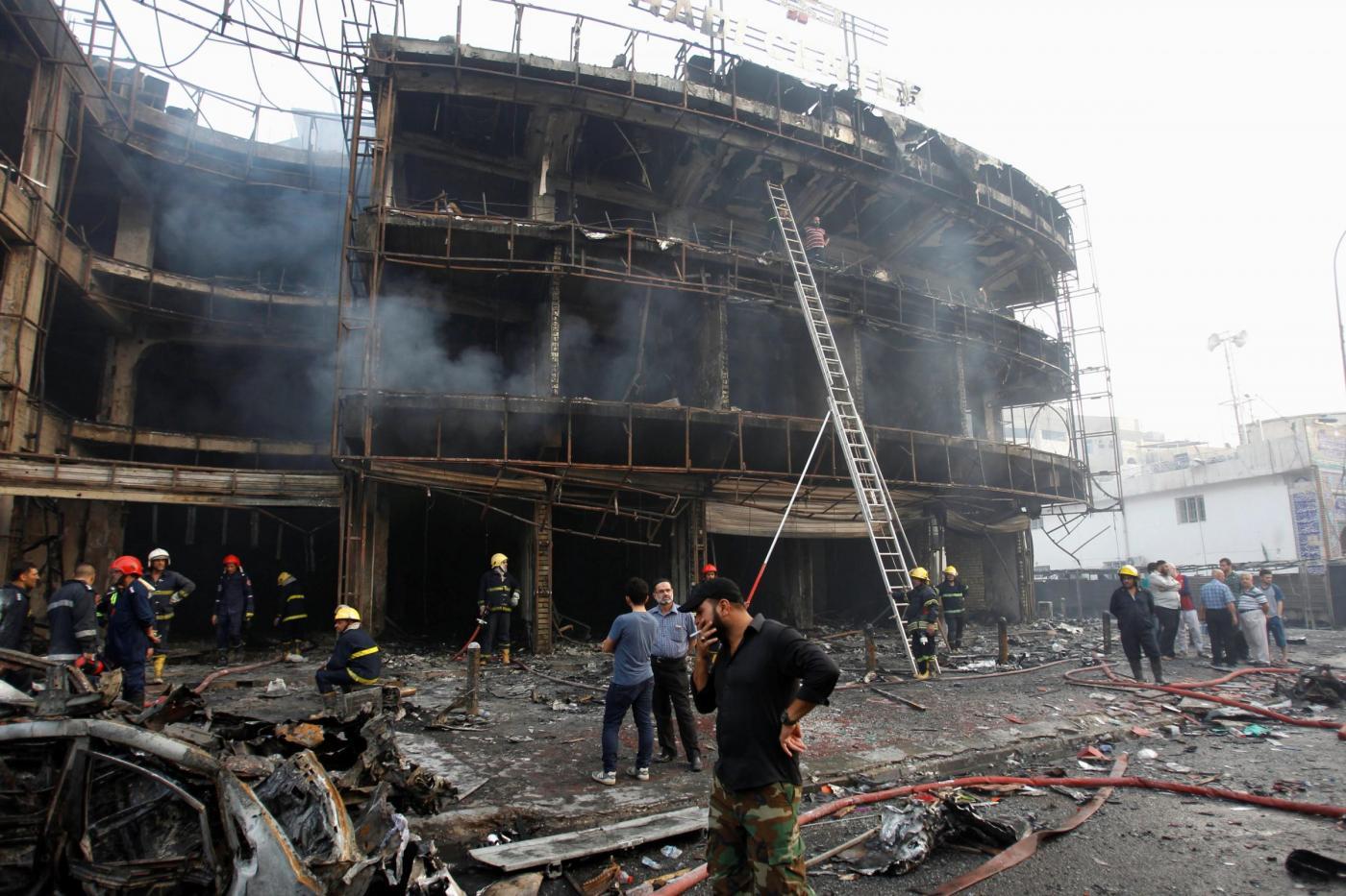 Iraq, attentato a Baghdad