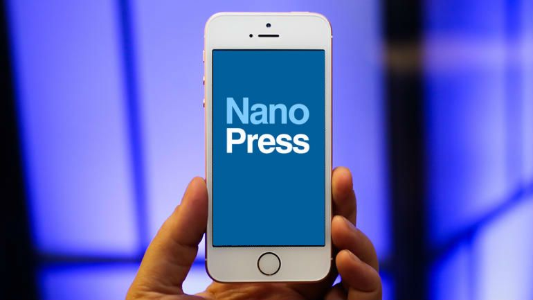 nanopress iphone