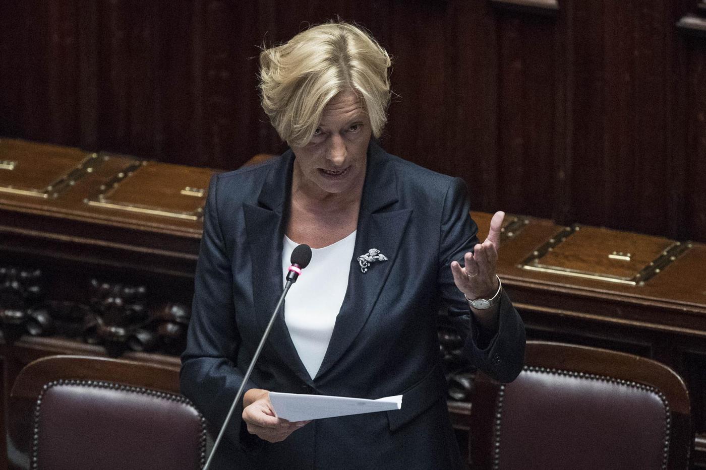 Roma, Il ministro Pinotti riferisce alla Camera sull'impegno dell'Italia in Libia