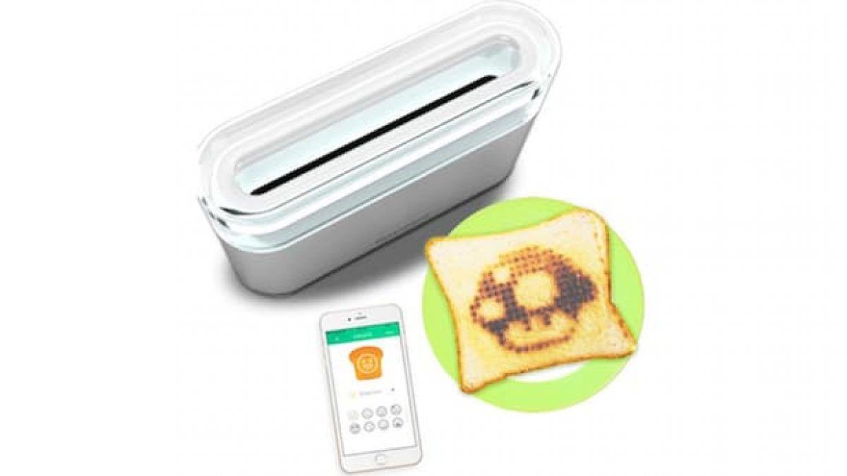 Toasteroid, il tostapane smart per disegnare sulle fette