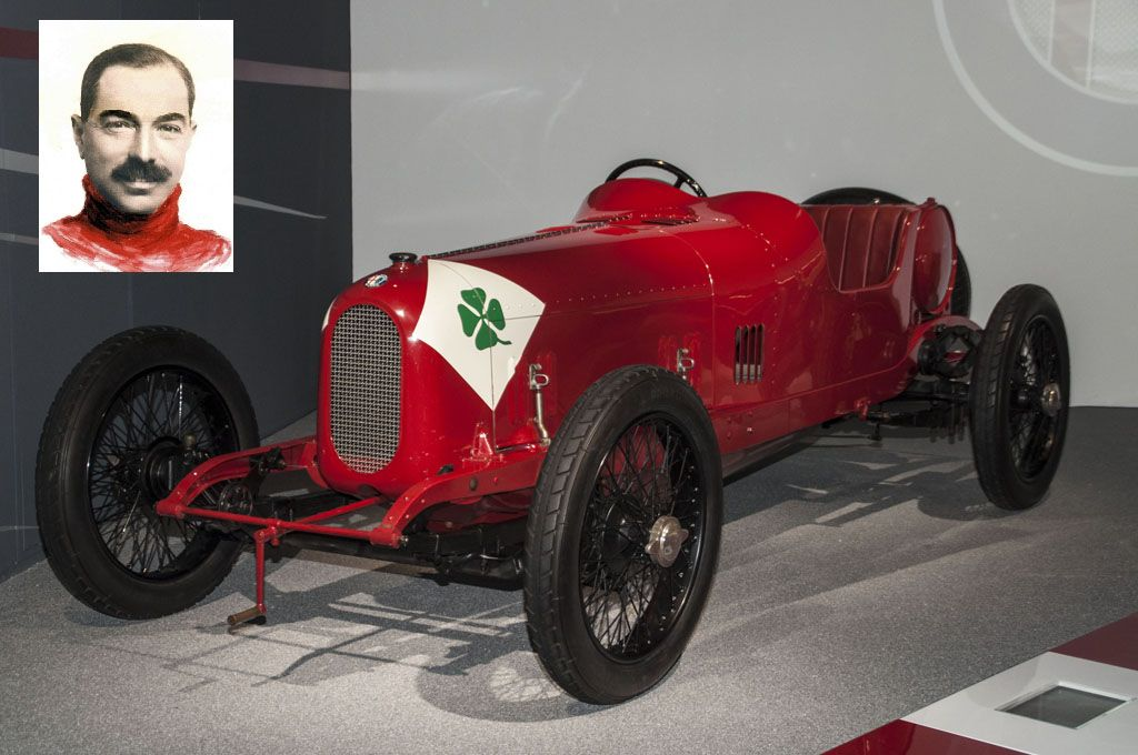 Alfa Romeo RL Targa Florio 1923 Ugo Sivocci