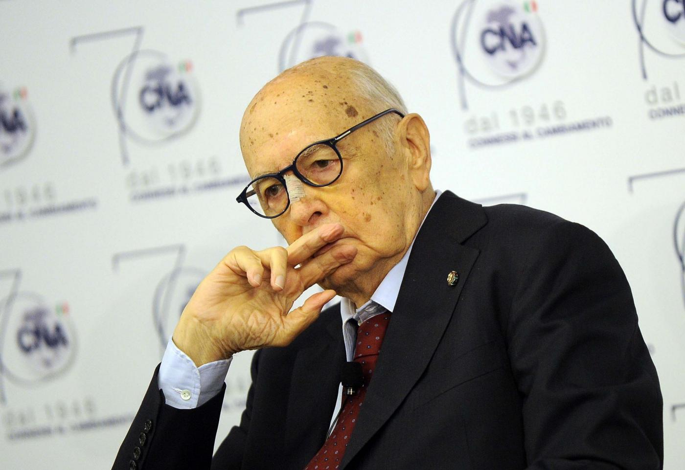 Napolitano su riforme referendum e italicum