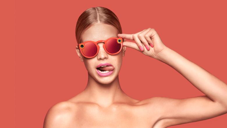 Occhiali Snapchat: per video e foto social in prospettiva
