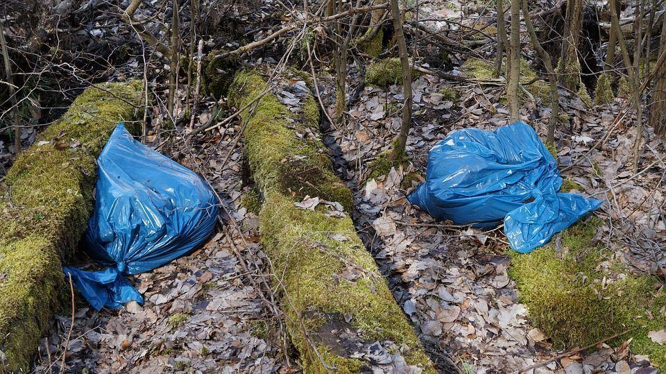 sacchetti plastica rifiuti ambiente