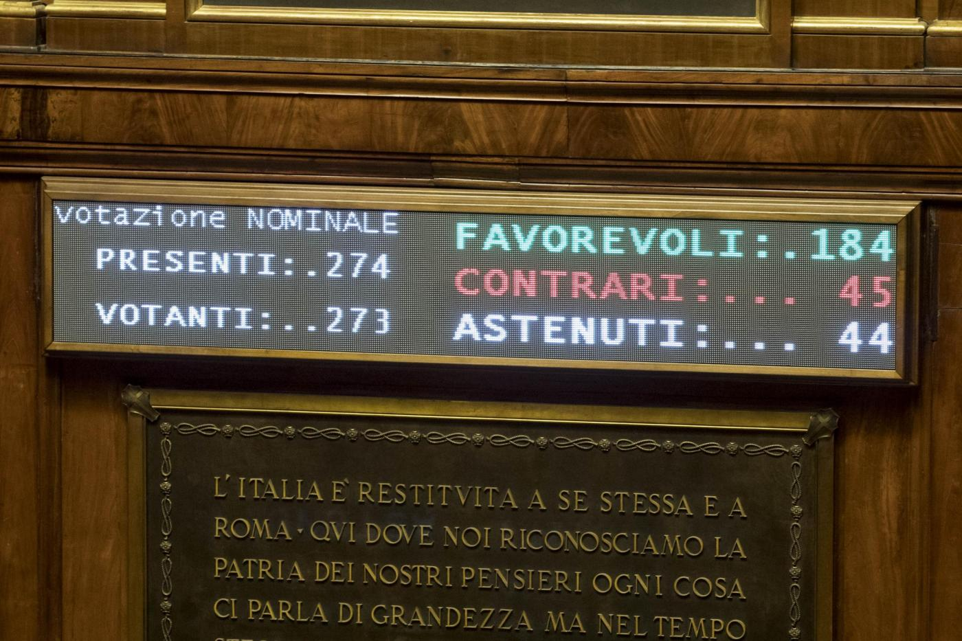 Senato ddl bilancio enti locali