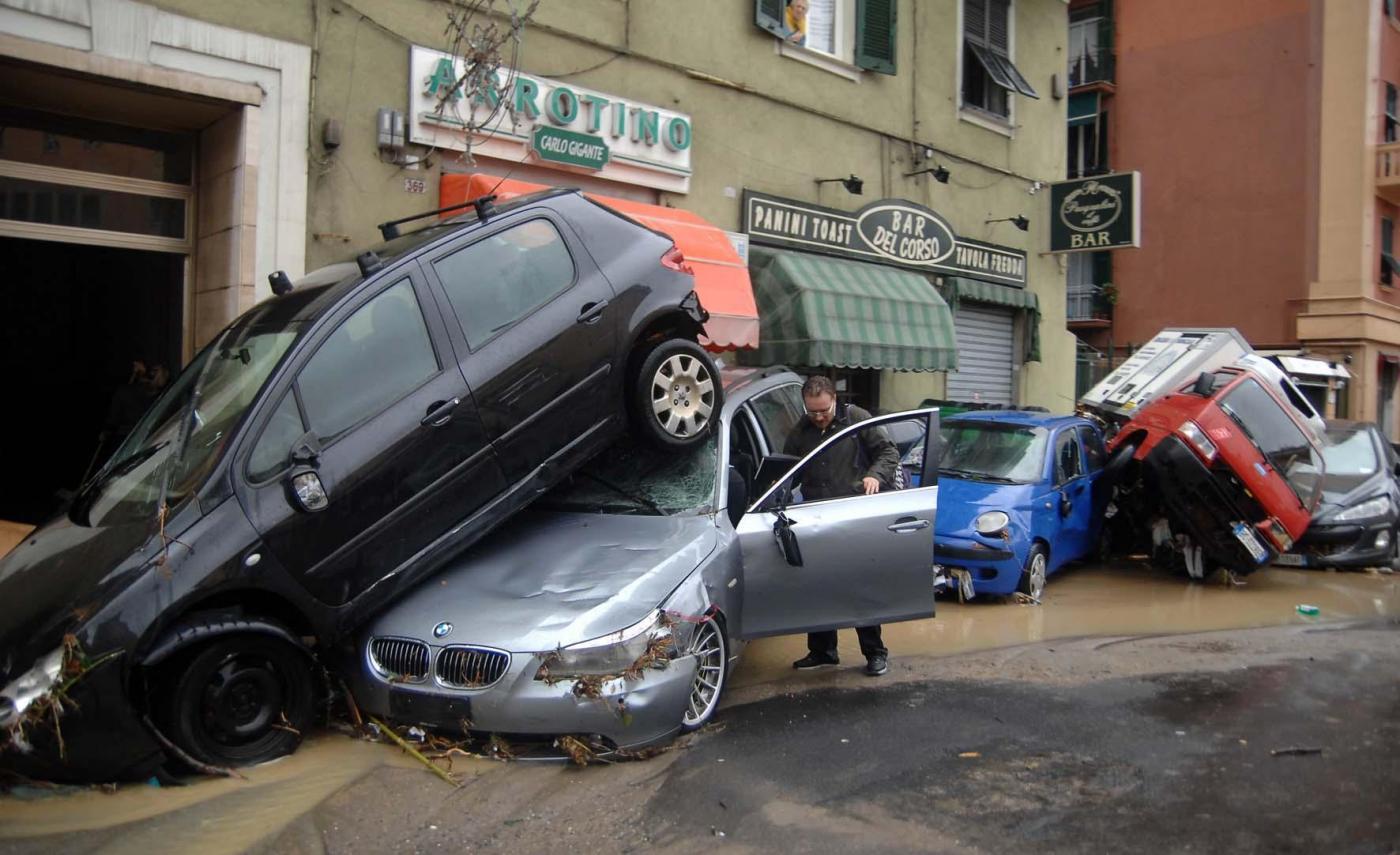 cosa fare durante un'alluvione