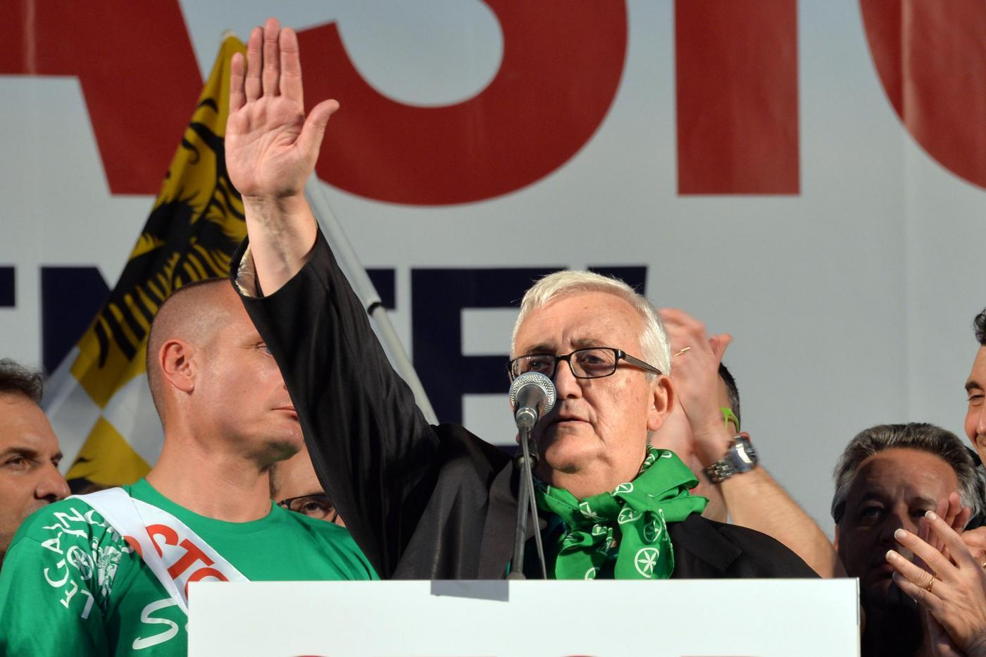Manifestazione Lega Nord contro l'immigrazione clandestina