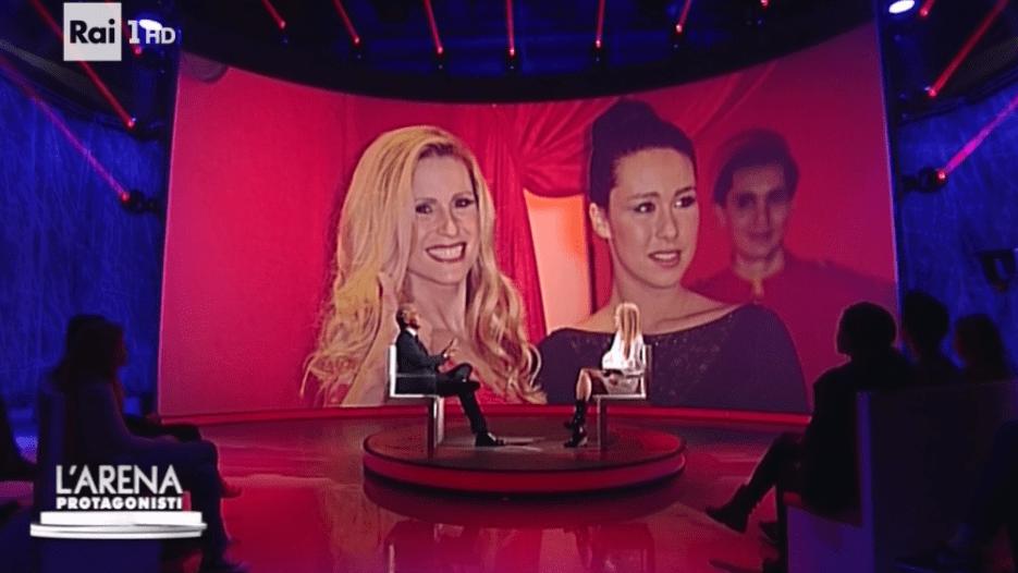 Michelle Hunziker intervistata da Massimo Giletti: 'Con Aurora sono un vigile!'