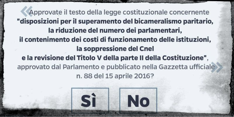 scheda referendum