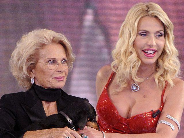Valeria Marini madre Bettarini