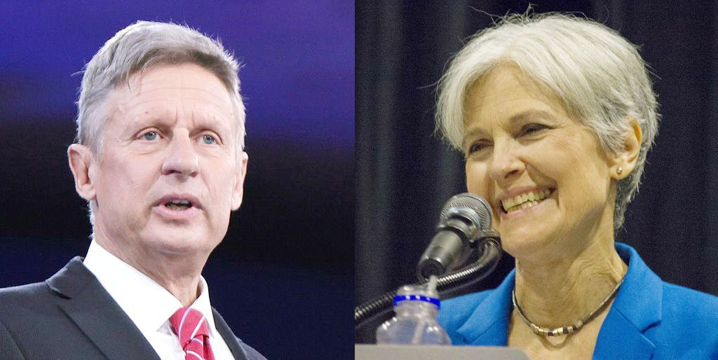 Elezioni USA_ candidati outsider_Gary Johnson e Jill Stein