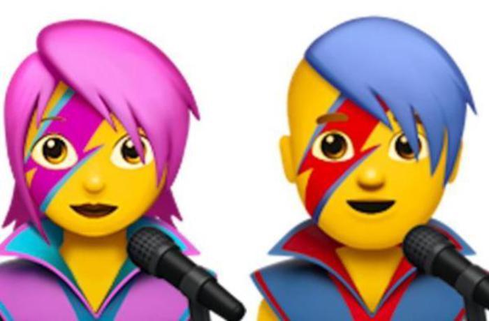 David Bowie diventa emoji