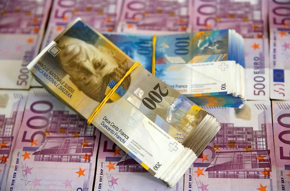franco svizzero e euro
