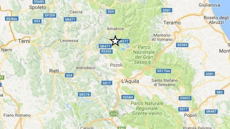 Terremoto vicino L'Aquila