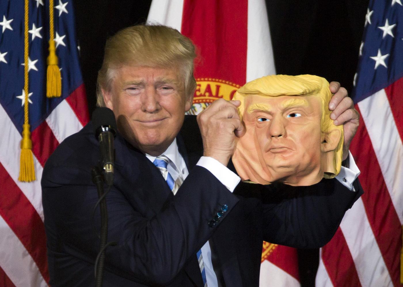 Donald Trump in campagna elettorale a Sarasota