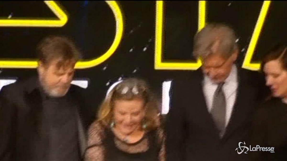Carrie Fisher è morta addio alla principessa Leila di Guerre Stellari