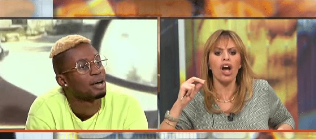 Bello Figo trolla Alessandra Mussolini in tv: lo scontro è su profughi e immigrati