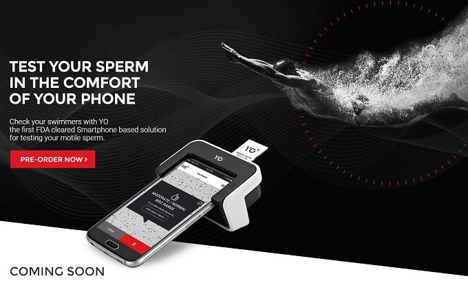Test Sperma smartphone