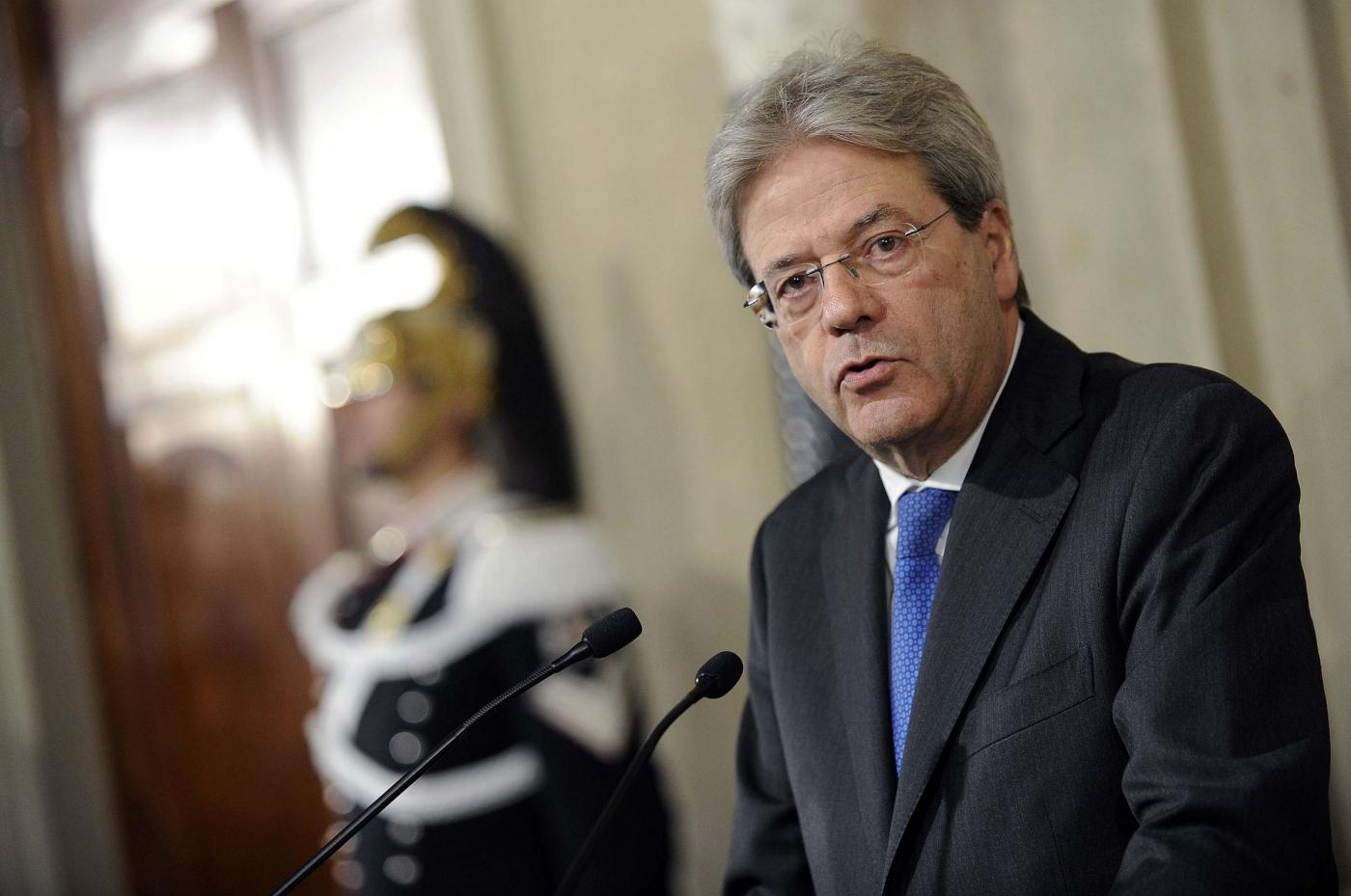 Quirinale. Il Presidente della Repubblica conferisce l'incarico di Presidente del Consiglio dei Ministri a Paolo Gentiloni