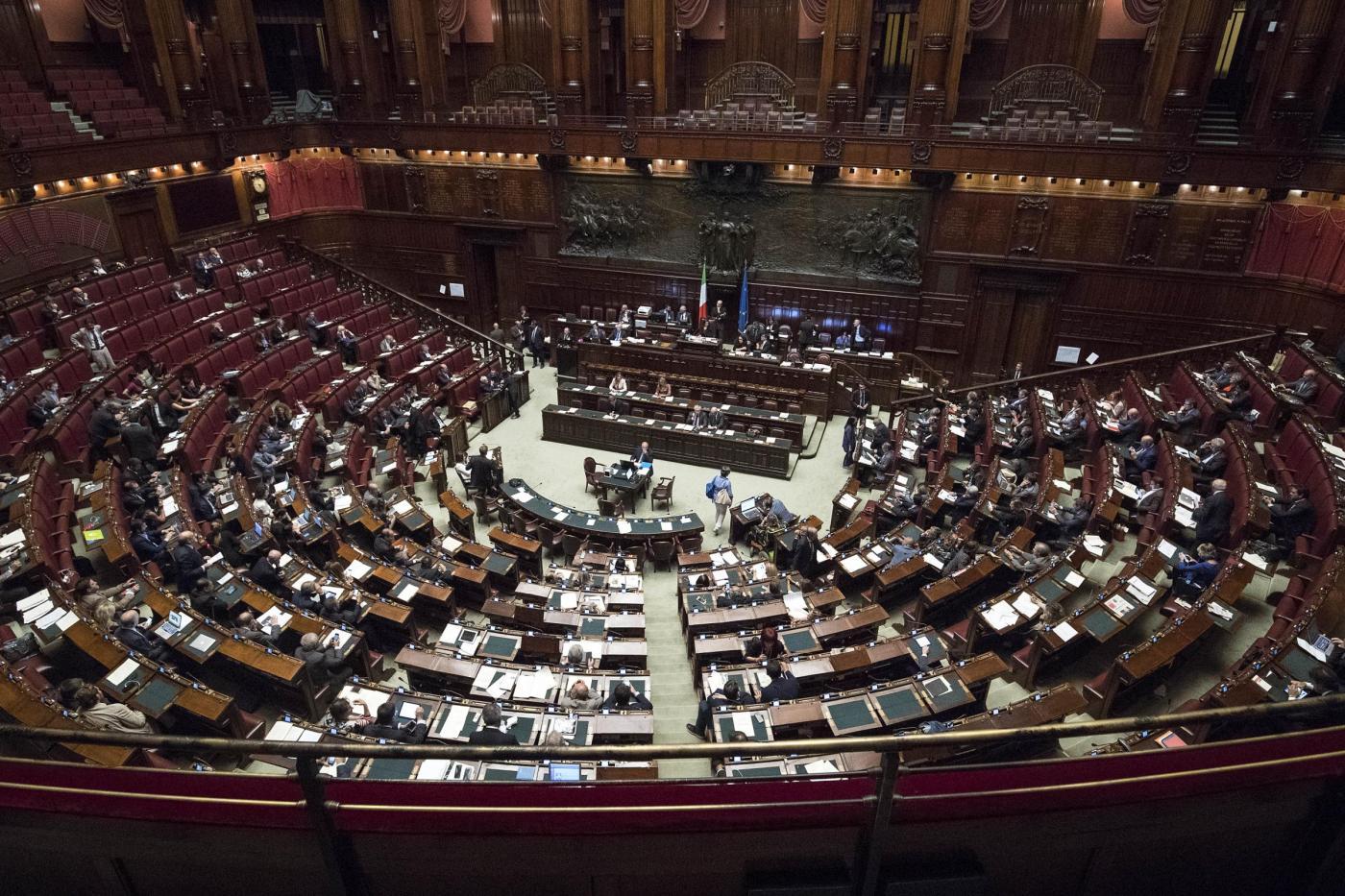 Camera dei Deputati Votazione delle mozioni su modifica Italicum