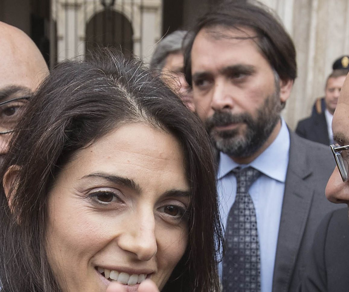 Virginia Raggi e Raffaele Marra