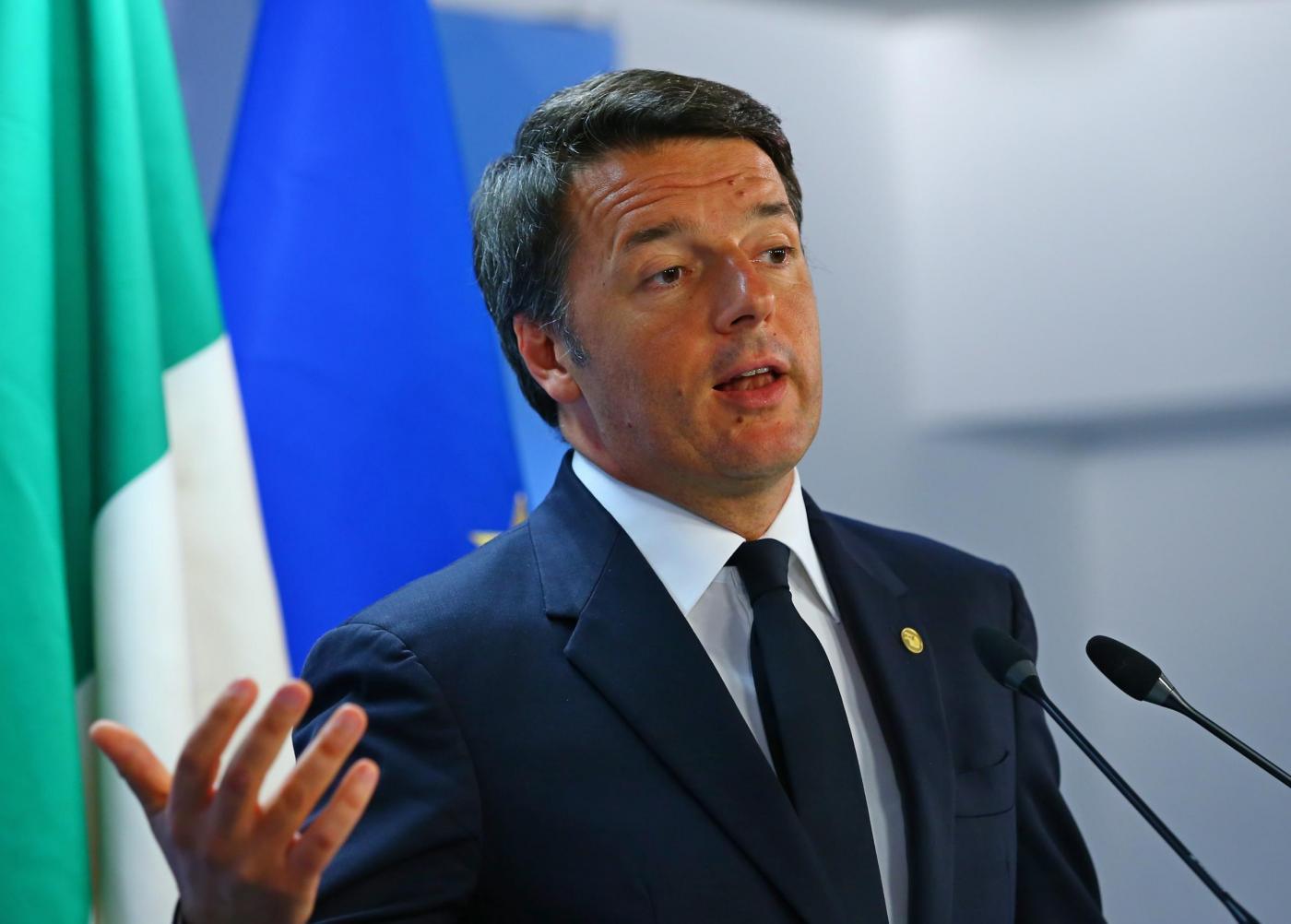 Conferenza di Renzi su risultati del referendum costituzionale