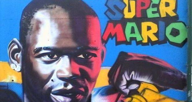 Mario Balotelli murales