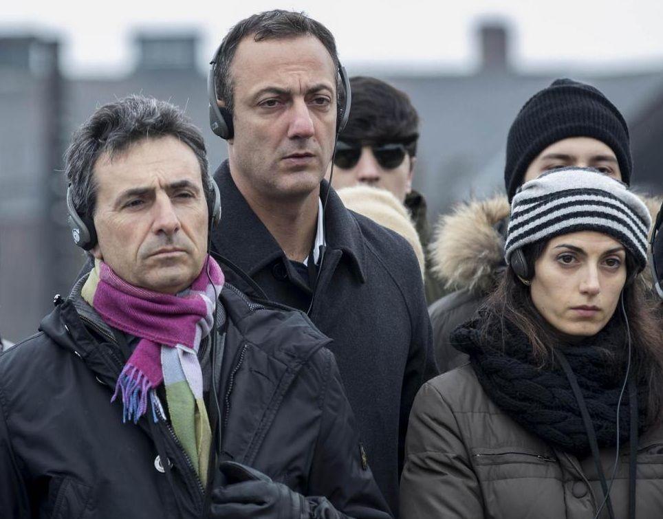 Salvatore Romeo, Marcello De Vito e Virginia Raggi