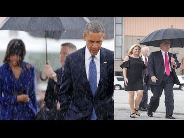 differenze Obama Trump in foto