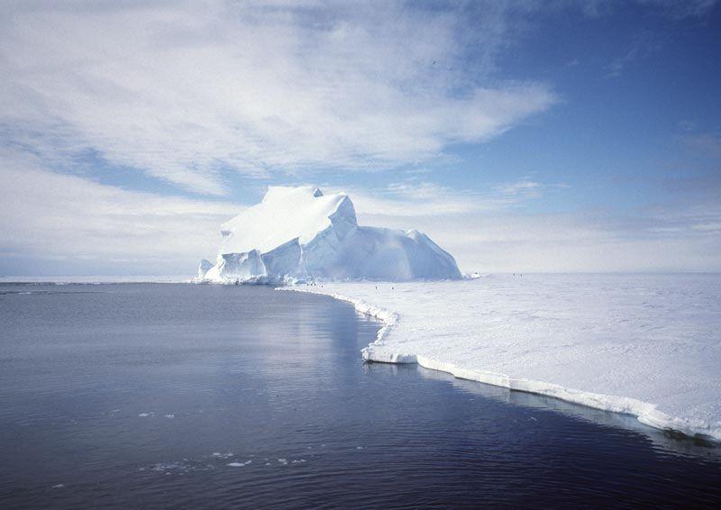 larsen antartide iceberg