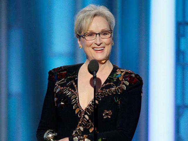 Meryl Streep Donald Trump Golden Globe 2017