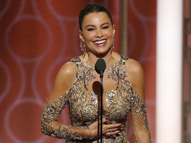 Sofia Vergara gaffe Golden Globe 2017