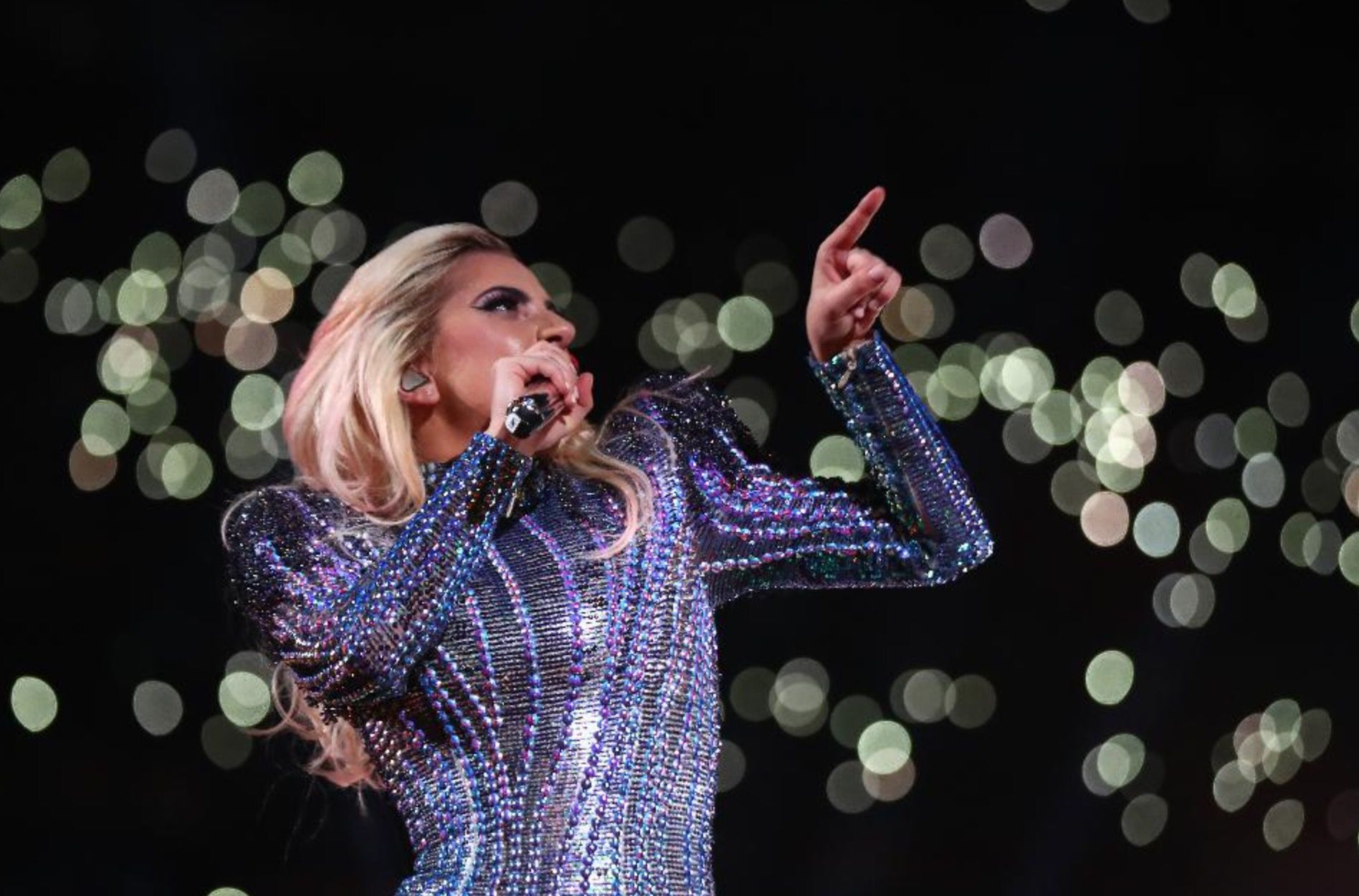 Lady Gaga Super Bowl 2017 droni