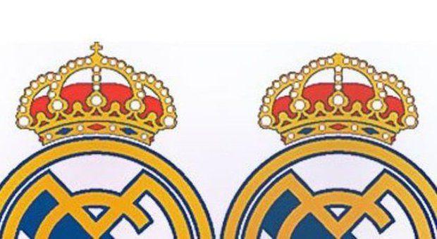 Stemma Real Madrid senza croce